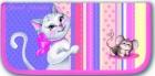 Пенал школьный  Феникс 1 отдел. Кошки-Мышки (узкий) Цена: 280 – 50% = 140 рублей