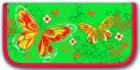 Пенал школьный  Феникс 1 отдел. Желтые бабочки (узкий) Цена: 280 – 50% = 140 рублей