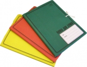 Папка для бумаг с завязками цветная