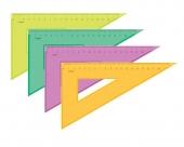Треугольник 30гр./180мм/прозр.флюор.