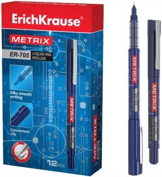"""Роллер  ЕК """"Metrix  ER-705"""" 0.6мм  синий"""