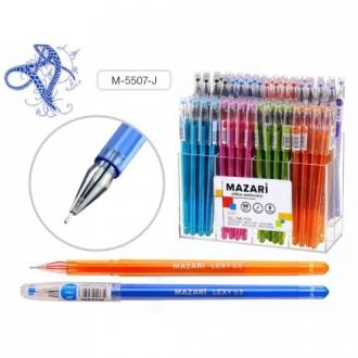 Ручка гелев   ассорти 8 цв. Mazari Lexy  0.5мм. в пластик. дисплее