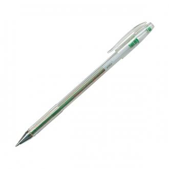 Ручка гелевая Crown 0,5мм зеленая