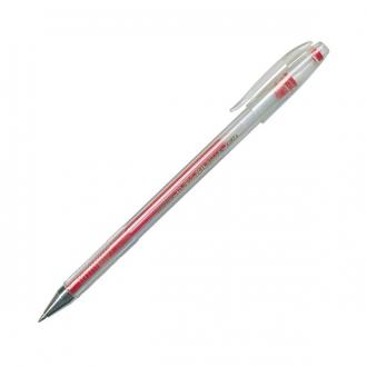 Ручка гелевая Crown 0,5мм красная