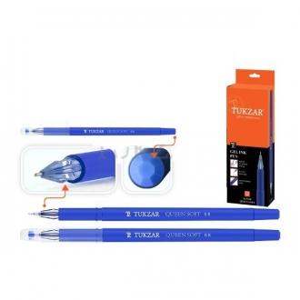 Ручка гелевая Tukzar Queen синяя (игольч.наконечник)