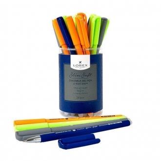 Ручка гелевая LOREX LX (пиши-стирай)  0.5мм, синяя