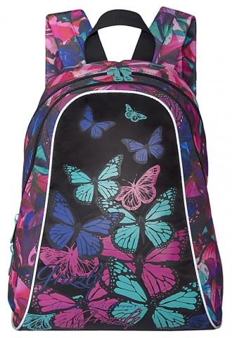 Рюкзак Grizzly RD-756-4 /3  бабочки  фуксия