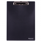 """Доска-планшет BRAUBERG """"Contract"""" (БРАУБЕРГ """"Контракт""""), плотная, с верхним зажимом, А4, черная"""