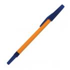 РШ 049-01 Ручка Школьник синяя,оранж.корпус