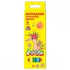 Карандаши Каляка-Маляка 3-гр. 6ц