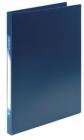 Папка с прижим. inФормат пл.0,5 мм. синяя