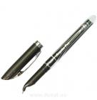 """Ручка """"Flair"""", Angular /синяя,черная/"""