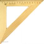 Треугольник дерев.45гр./160,180мм/