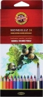 Карандаши аквар. 24цв.K-I-N Mondeluz