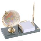 Настольный набор с глобусом Protege (мрамор)