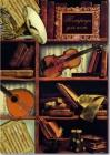 Тетрадь для нот 8л. Феникс+ Музыкальные инструменты/вертикальная