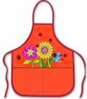 Фартук для труда и рисования Цветы (Феникс)