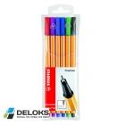 Ручка Stabilo линер (набор 6шт)