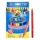 Фломастеры 12цв. Carioca Joy /картон.упаковка/