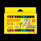 Карандаши 12 цв Каляка-Маляка пластиковые трёхгранные