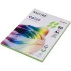 Бумага Maestro  А4, 100л. 80г/м2 зеленая