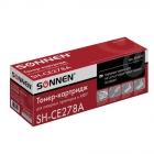 Картридж лазерный HP (CE278A) LaserJet P1566/P1606DN, ресурс 2100 стр., SONNEN совместимый