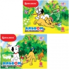 Альбом для рисов. 32л. скрепка  Kids Series (Brauberg) ,