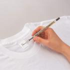 Ручка гелевая Pentel по ткани 1.0мм черная
