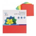 Бумага для оригами одноцв.100л. 10х10см.,