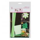 Набор для скрапбукинга  зеленые оттенки  (АтрФормат),