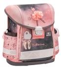 "Ранец Belmil CLASSY  ""BALLERINA BLACK PINK"" эргономичная спинка,  вес 860гр, 36х32х19 см,"